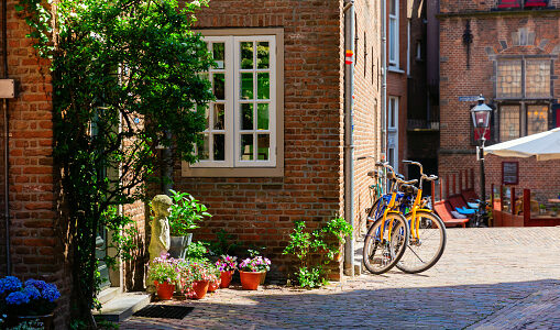Hofje St Stevenskerk Nijmegen NL