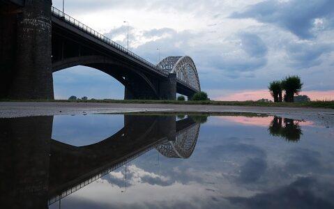 Waalbrug Nijmegen, Netherlands